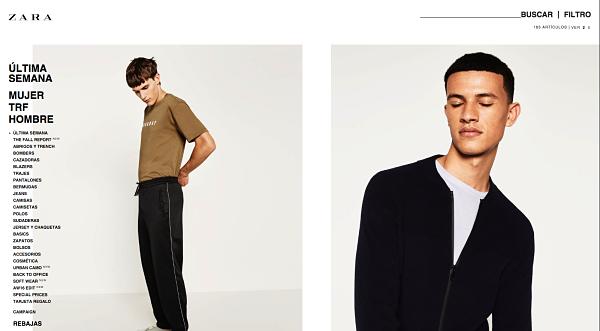 Zara online outlet