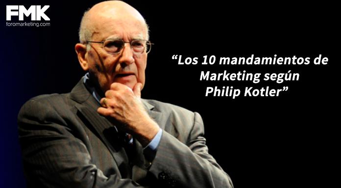 los diez mandamientos del marketing Philip Kotler