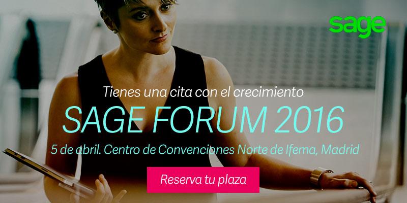 Sage Forum, cita imprescindible para los emprendedores