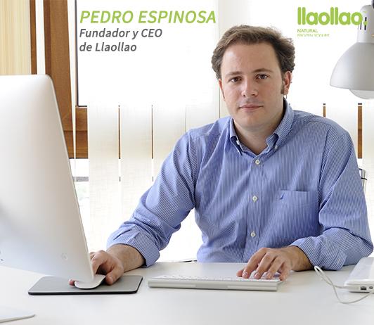 Pedro Espinosa, CEO y Socio Fundador de Llaollao