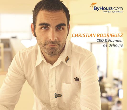 Christian Rodríguez, CEO ByHours