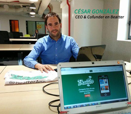 César González, CEO Beatter