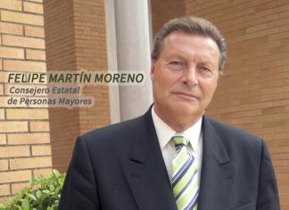 Felipe Martín, Consejero Estatal Personas Mayores