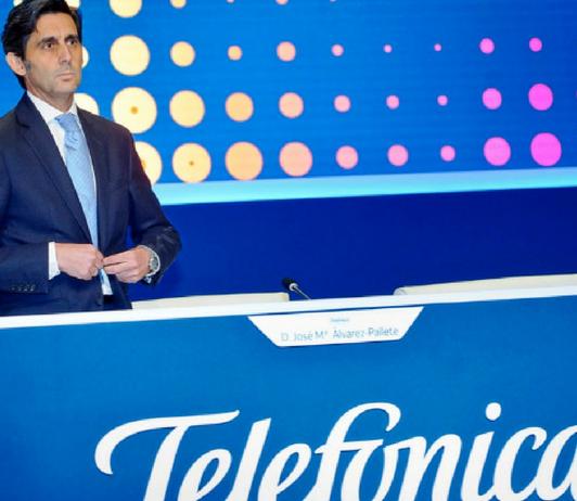 Telefónica inicia la revolución de la información