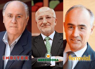 Empresarios más ricos de España