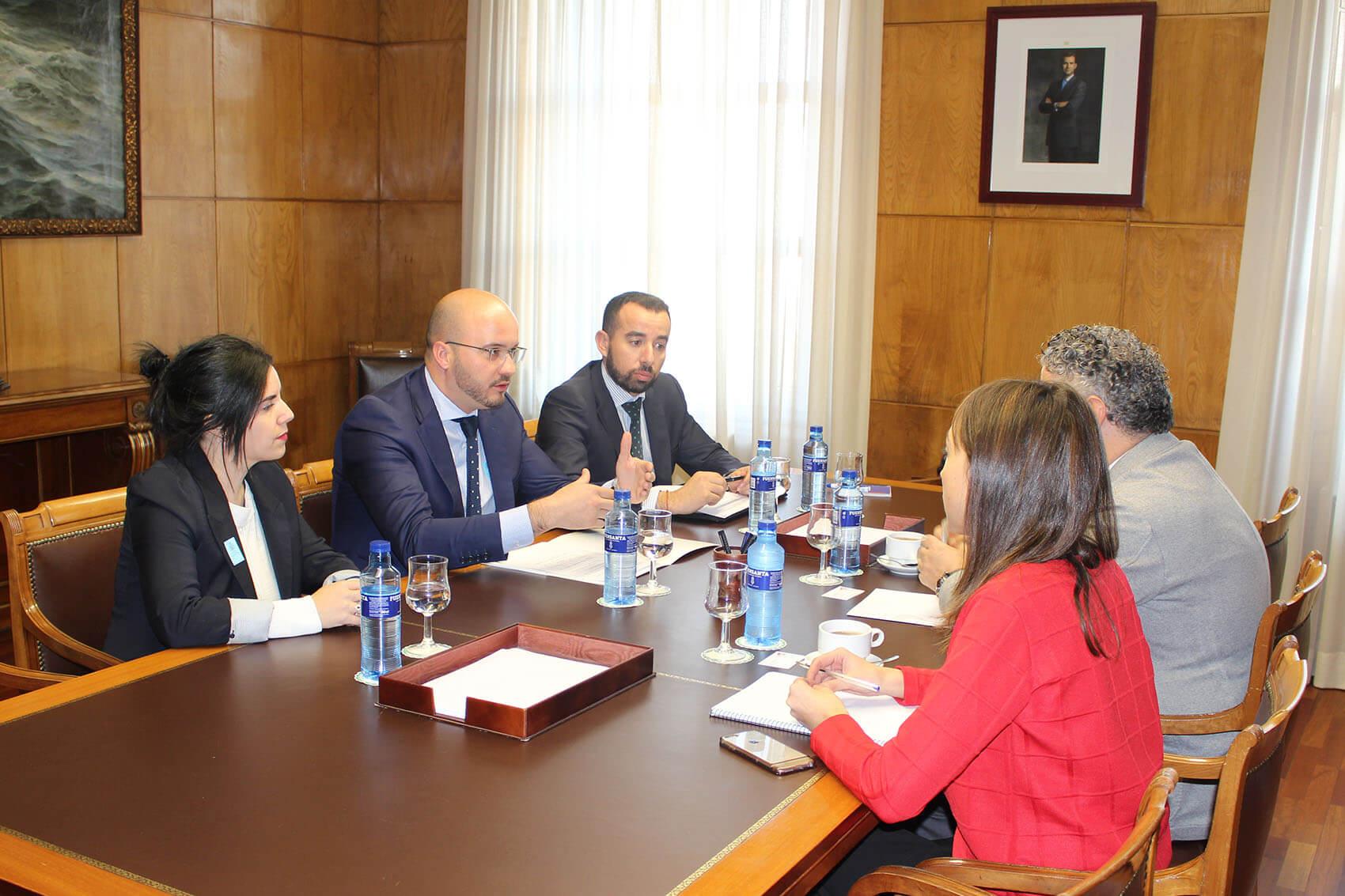 Reunión CEAJE y Secretario Estado