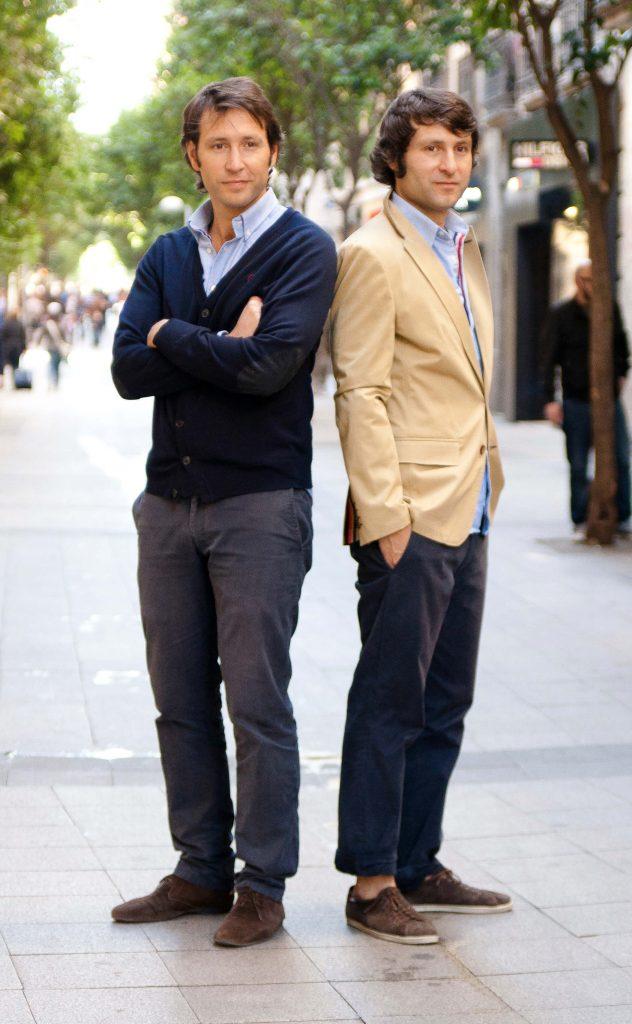 Alvaro y Clemente Cebrián, fundadores El Ganso