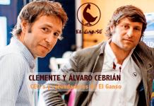 Cofundadores de El Ganso Clemente y Alvaro Cebrian