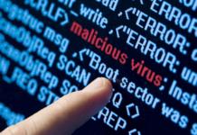 Virus malicioso en un ciberataque