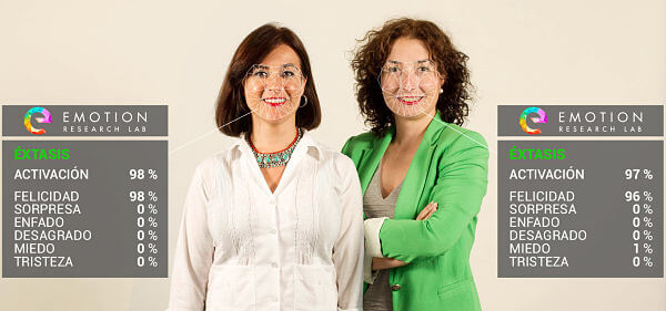 María Pocoví y Alicia Mora, cofundadoras de Emotion Research Lab