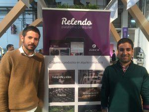 Cofundadores de la startup Relendo
