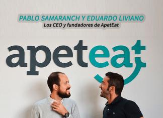 Los CEO y fundadores de ApeatEat - Pablo y Eduardo