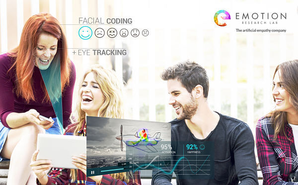 Eye Tracking y Facial Coding Emotion Research Lab