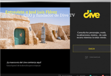 Carátula Dive para la TV