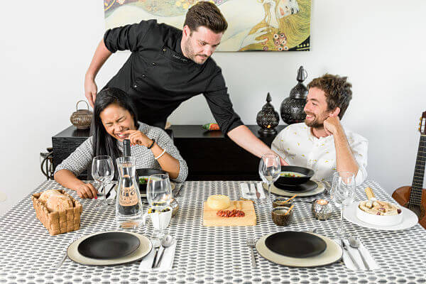 Experiencia gastronómica de VizEat