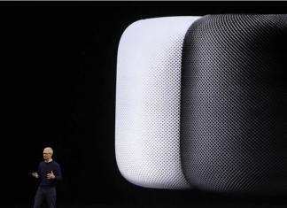 Altavoz con Siri Home Pod de Apple