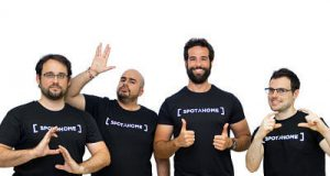 Bruno Bianchi (COO & Cofounder), Bryan McEire (CTO), Alejandro Artacho (CEO) y Hugo Monteiro (VP of Engineering)