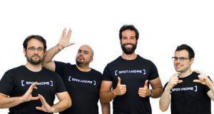 Bruno Bianchi (COO & Cofounder), Bryan McEire (CTO), Alejandro Artacho (CEO) y Hugo Monteiro (VP of Engineering)