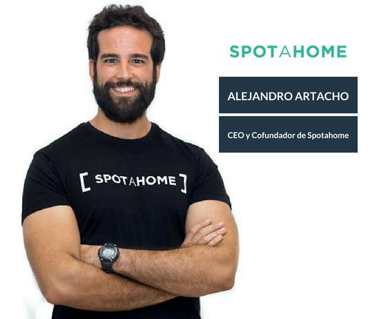 Alejandro Artacho, CEO y fundador de Spotahome