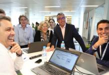 Inauguración centro de innovación de Carrefour