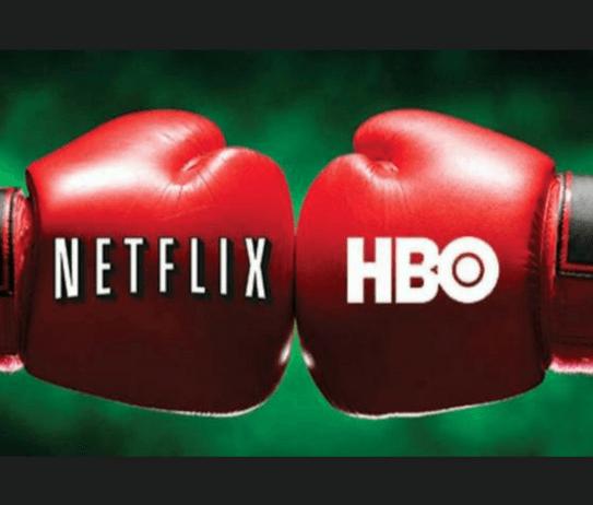 Guantes de boxeo Netflix y HBO