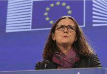 Cecilia Malmstrom comisaria europea de comercio