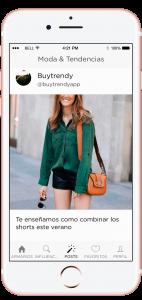 Apariencia Buytrendy App