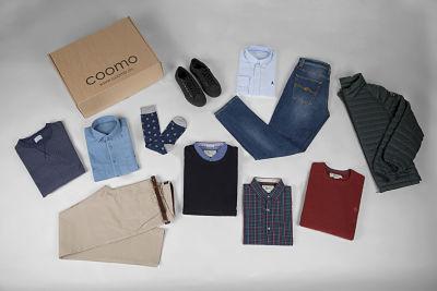 Primera caja de envío Coomo
