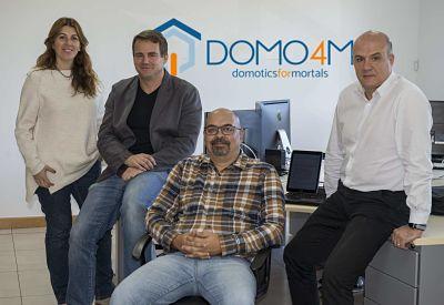Todo el equipo de DOMO4M