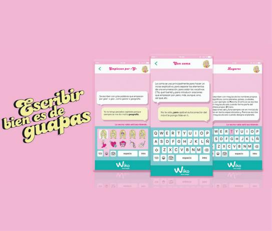 Escribir bien es de guapas-App