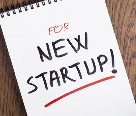 For new startup