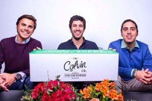 Los tres fundadores de colvin