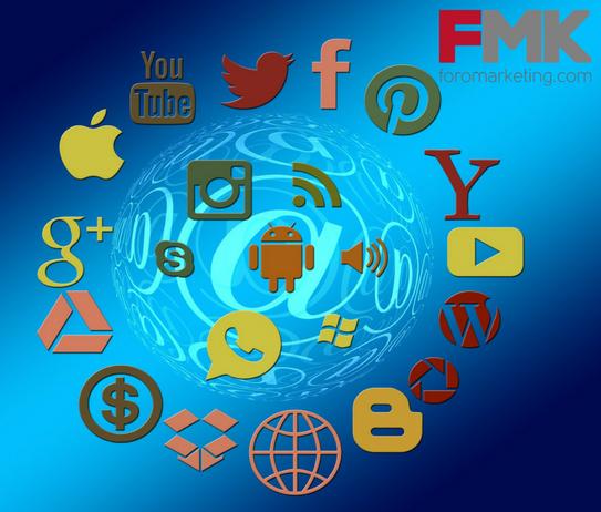 Logos de las redes sociales