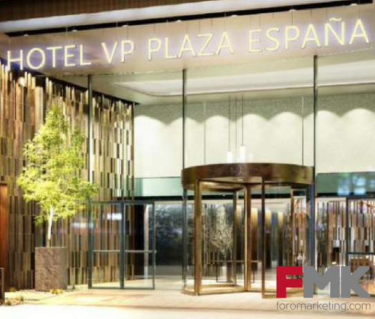 El Street marketing-El caso del Hotel VP Plaza España