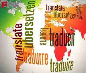 mapa del mundo con textos
