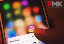 Móvil con App Instagram