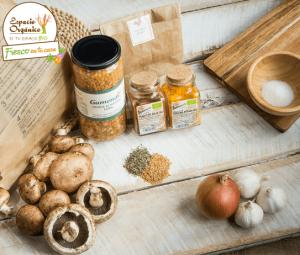 productos de espacio orgánico