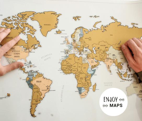 mapa mundo enjoymap