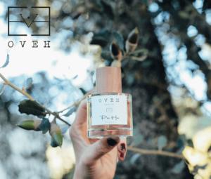 Packaging perfume OVEH