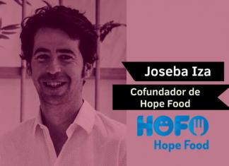 Joseba Iza cofundador hope food