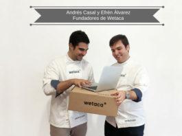 Wetaca es la forma en la que dos amigos han sabido convertir su pasión por la comida casera en negocio.