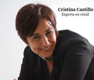 Cristina Castillo es licenciada en Derecho por la Universidad Complutense de Madrid y ha dedicado la mayor parte de su carrera profesional al sector retail.