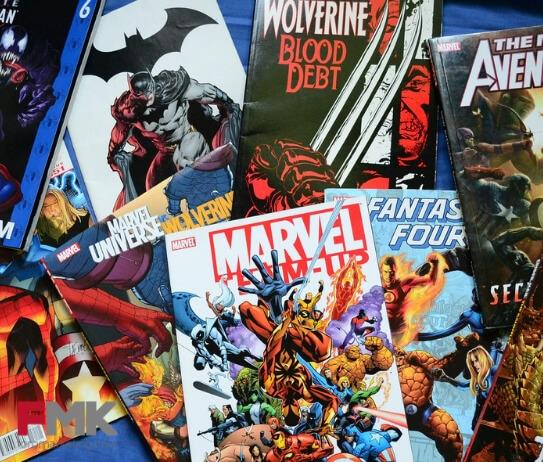 Los cómics de Stan Lee y su marca Marvel son uno de los éxitos del mundillo.