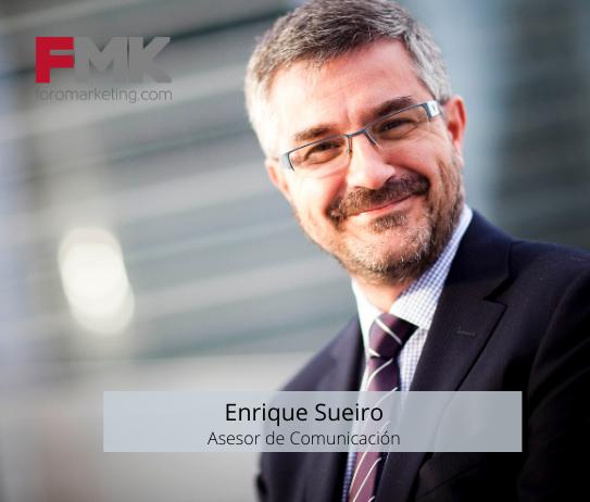 Foto de Enrique Sueiro asesor de Comunicación