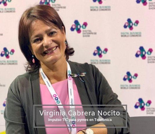 vIRGINIA cABRERA nOCITO, EXPERTA EN tRANSFORMACIÓN dIGITAL
