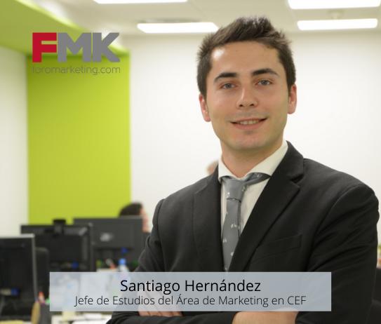 santiago hernández jefe de estudios marketing cef