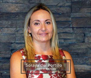 Soraya Del Portillo es la CEO y fundadora de Chiara