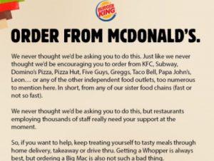 Burger Twitter