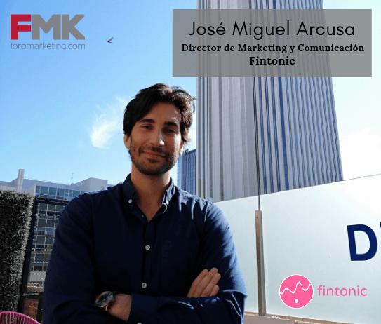 José Miguel Arcusa Fintonic Entrevista
