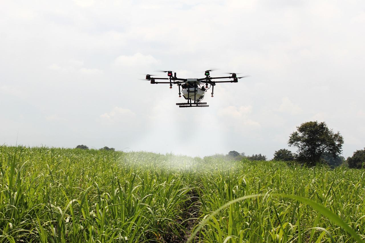 sector agroalimentario dron